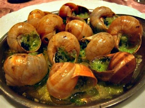 cuisine escargots escargot is a dish of cooked land snails usually served