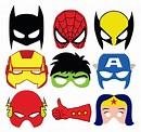 Superheroes masks on Behance
