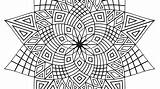 Coloring Pages Flower Complex Printable Adults Getcolorings Excellent sketch template