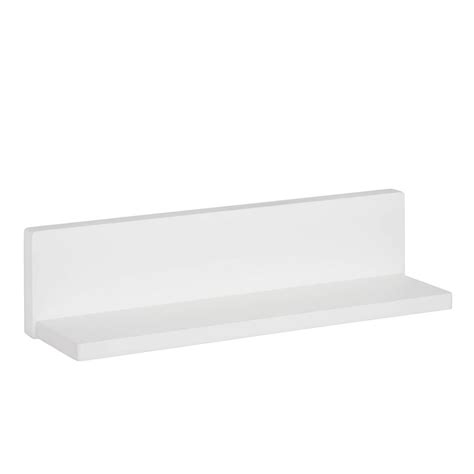 l shaped shelf honey can do 15 75 in x 3 94 in l shape white wall shelf