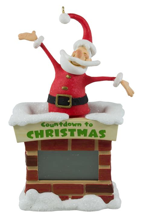 hallmark keepsake 2016 countdown to christmas santa