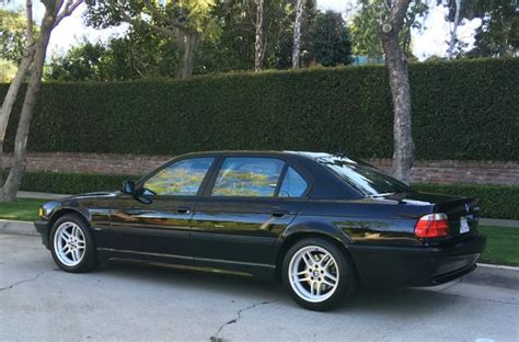 2001 Bmw 750il For Sale by 16k Mile 2001 Bmw 750il For Sale On Bat Auctions Sold
