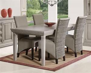 Table à Manger Contemporaine : table de salle a manger contemporaine judith zd1 tab r c ~ Teatrodelosmanantiales.com Idées de Décoration