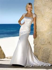 Exotic Strapless Beach Wedding Dresses Fashion Fuz