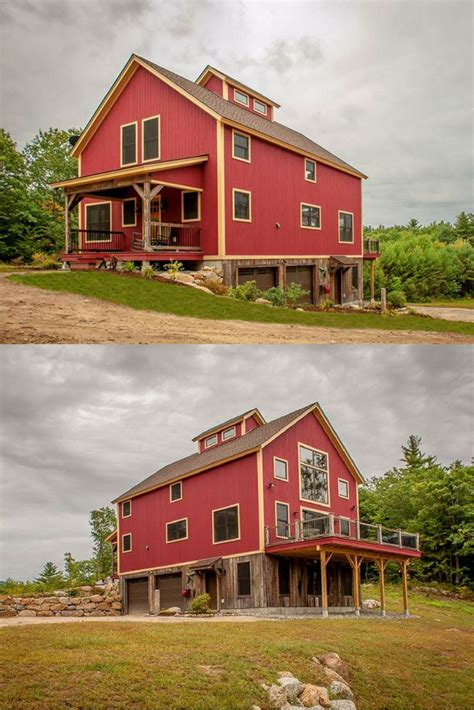 small barn house designs images  pinterest