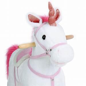 Licorne à Bascule : licorne bascule mademoiselle licorne ~ Teatrodelosmanantiales.com Idées de Décoration