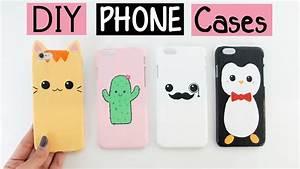 Diy, Phone, Cases, -, Four, Cute, U0026, Easy, Designs