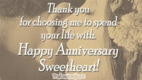 wedding anniversary wishes  husband true love words