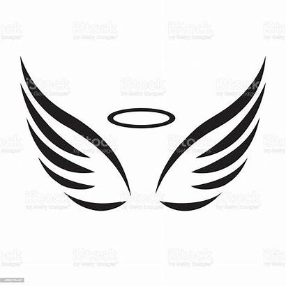 Wings Angel Vector Sketch Illustration Background Wildlife
