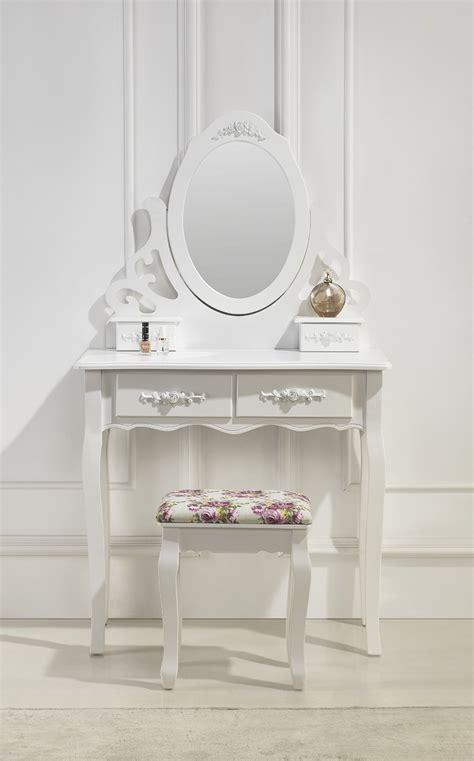 siege coiffeuse magnifique coiffeuse avec miroir et siège tiroirs table de