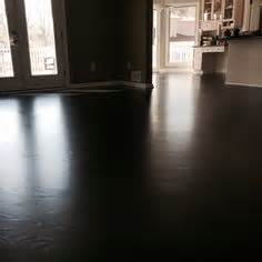 oak flooring with mahogany stain and pallmann x color sealer and pallmann x96 satin