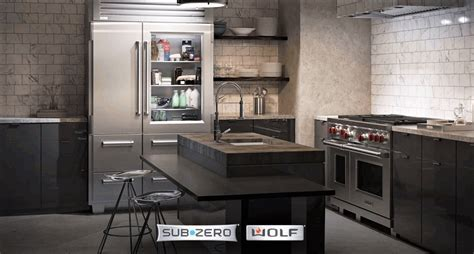 Sub Zero and Wolf Appliances   Top Shelf Functionality and