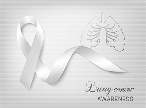 what color ribbon is for lung cancer fighting cancer together fighting cancer together