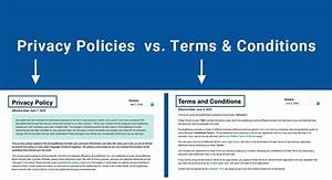 Terms Of Use And Privacy Policy Template Terms Of Agreement Example Images Agreement Letter Format