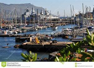 Simonstown Harbour Stock Photo Image Of Town Masts