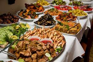 Your food budget for the wedding reception… BPW Presents
