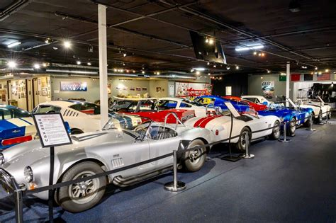 The name carroll shelby may not be quite as familiar to new automotive enthusiasts as it is for older generations but his creations are no stranger to (.) it all started with ferrari cutting off talks after ford sunk a substantial amount of money into the project. Shelby Experience Museum offers 'Ford v Ferrari' movie car raffle