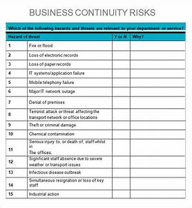 business impact analysis 5 documents in word pdf With risk and impact analysis template
