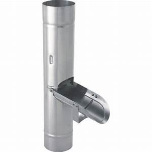 Collecteur D Eau De Pluie Pour Gouttières : r cup rateur d 39 eau de pluie zinc gris scover plus ~ Dailycaller-alerts.com Idées de Décoration