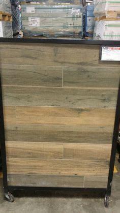 Soft Greige Wood Plank Porcelain Tile   6in. x 40in
