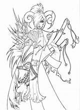 Demons Suck sketch template