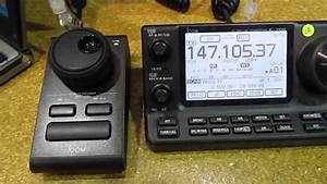 Icom Rc-28 Remote Encoder  Ic-7100  Hamventon 2013
