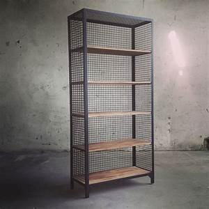 Bücherregal Metall Holz : die besten 25 regal metall holz ideen auf pinterest stahlregal stahlregale und b cherregal ~ Sanjose-hotels-ca.com Haus und Dekorationen