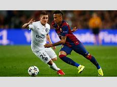Marco Verratti Neymar Barcelona PSG Champions League