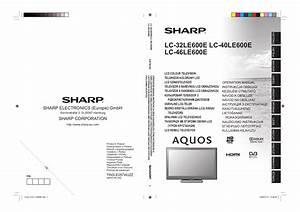 Download Free Pdf For Sharp Aquos Lc