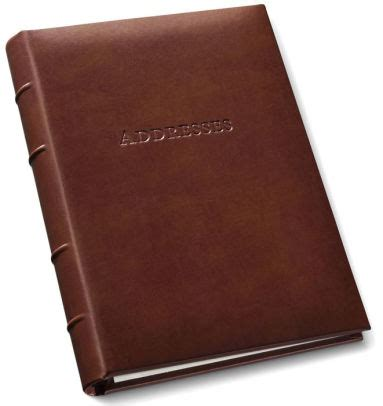 Barnes And Noble Address Book bonded leather address book 9 quot x 7