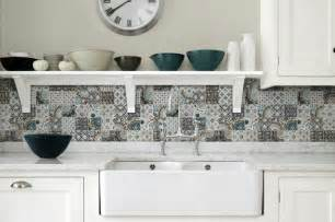 country kitchen backsplash top 15 patchwork tile backsplash designs for kitchen