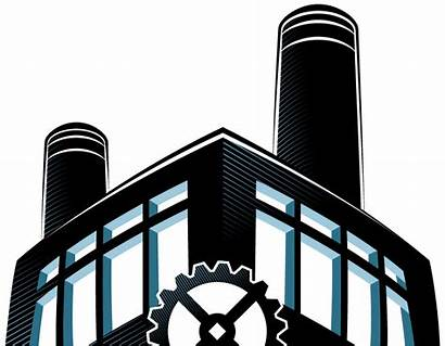 Factory Animation Clipart Cliparts Building Clip Library
