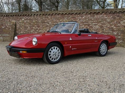 1988 Alfa Romeo by Classic 1988 Alfa Romeo Spider 2 0 Qv Aerodinamica