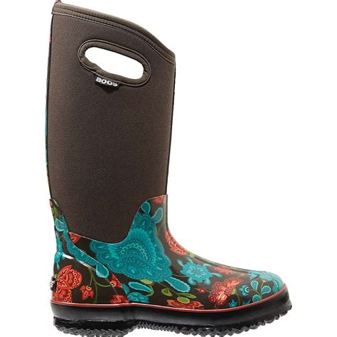 bogs womens classic winter blooms tall boot