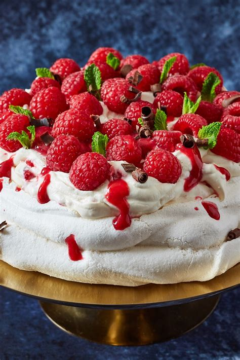 raspberry pavlova recipe great british chefs