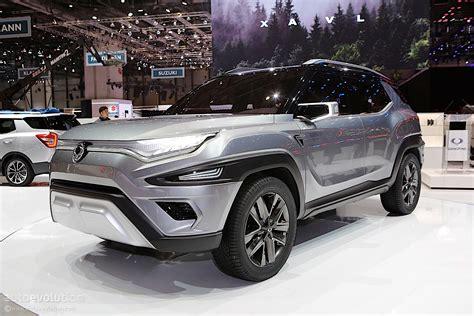 Ssangyong XAVL Concept Showcased In Geneva, Previews ...