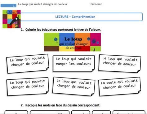 le qui change de couleur 17 best images about le loup qui voulait changer de couleur on article html sons
