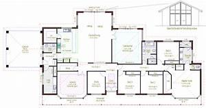 Architecture, Rectangular, House, Floor, Plans