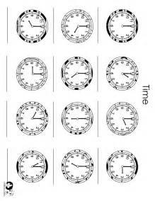 English Time Worksheet