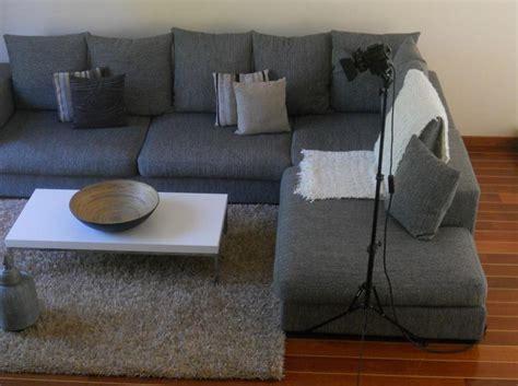 peinture tissu canap salon canap gris une couleur pour une multitude de