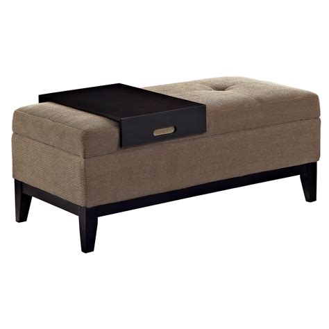 chenille extra long storage bench and ottoman amazon com simpli home oregon rectangular storage ottoman