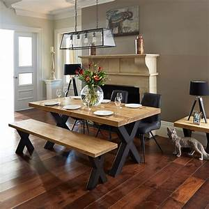Dining, Room, Tables, With, Benches