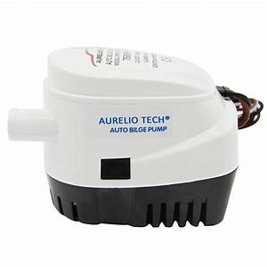 12v 750gph Submersible Automatic Bilge Pump For Boat Auto