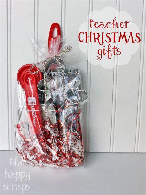 teacher christmas gift the happy scraps