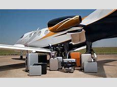 Phenom 100E Corporate Jet Baggage Compartment