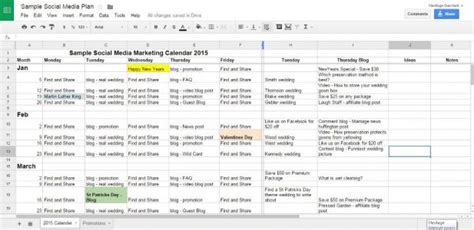 media plan template 18 social media marketing plan template that will make your easy