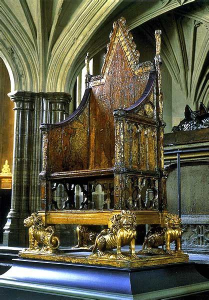 king edwards chair the coronation chair quot king edward s chair quot in