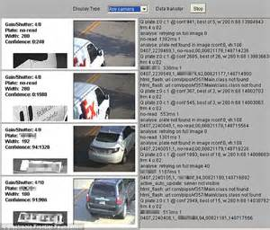 License plate readers that track car driver information ...
