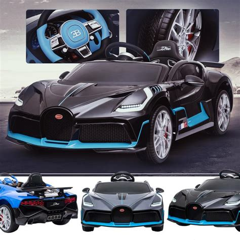 (no nods to our electric future here.) drivers will only be able to make use of all that on a track, where the car would look perfectly at home, with a. Licensed Buggati Divo 12V Battery Electric Ride On Car