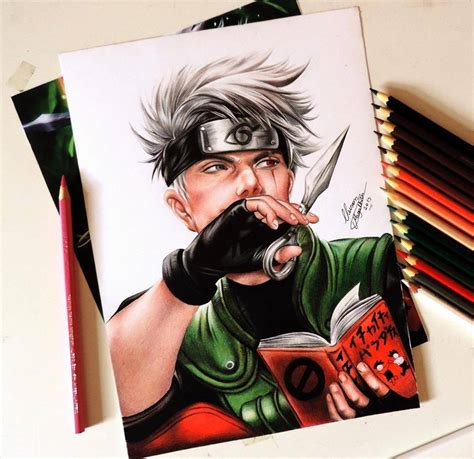 anime art draw anime art drawing by cleison magalhaes